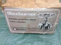 Blaxburner Parraffin Pressure Stove