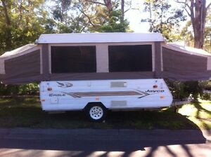 Jayco Eagle Camper (van trailer poptop) Springwood Blue Mountains Preview
