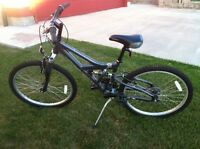 21 speed Grey Mountain bike