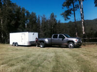 2012 CHARMAC 16' enclosed Trailer with ramp