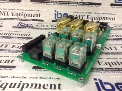 Electrovert Omniflo Relay Board - 6-1860-122-10-1 Wwarranty