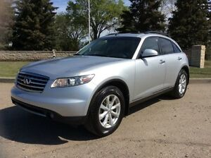 2006 Infiniti FX35, AUTO, AWD, LEATHER, ROOF, $10,500