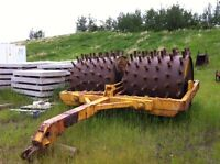"""60"""" DOUBLE DRUM MCCOY SHEEPSFOOT PULL TYPE COMPACTOR"""