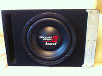 Car audio subwoofer (sub and box together)