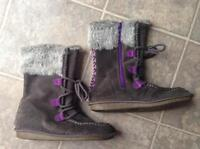 Girls Clarks Winter Boots New Fredericton New Brunswick Preview
