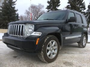 2009 Jeep Liberty, LIMITED-PKG, AUTO, 4X4, LEATHER, ROOF, $7,000