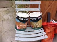 DARK GERRN FENCE OR SHED SPECIAL PAINT,,2 BIG TINS