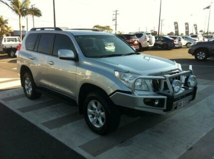 2012 Toyota Landcruiser Prado KDJ150R GXL Silver 5 Speed Auto Seq Sportshift Wagon Gladstone Gladstone City Preview