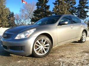 2009 Infiniti G37x, AUTO, AWD, LEATHER, ROOF, $9,900