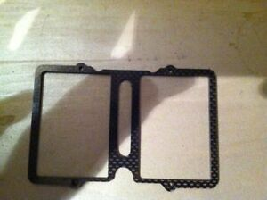 RC 1/10th OG AE B44 4wd buggy CF battery brace for sale