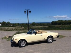 For Sale: 1982 Fiat Spider 2000