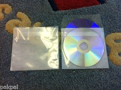 1000 Double Cd Dvd Pp Sleeves Wnon-woven Fabric Liner Tuck-in Flap Ps15