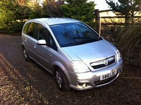 **REVISED PRICE** 2010 Vauxhall Meriva 1.6 petrol. 111,000 miles, good runner suitable for families.