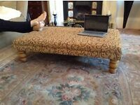 Coffee table foot stool