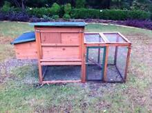 Chicken coop Rabbit Hutch cage run Guinea Pig RRP $230 Oyster Bay Sutherland Area Preview