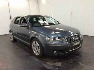 2007 Audi A3 8P Sportback 1.8 TFSI Ambition Grey 6 Speed Direct Shift Hatchback Cardiff Lake Macquarie Area Preview