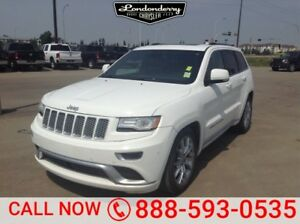 2015 Jeep Grand Cherokee 4WD SUMMIT Accident Free,  Navigation (