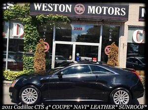2011 Cadillac CTS PREMIUM* COUPE* NAVI* LEATHER* SUNROOF* EXTREM