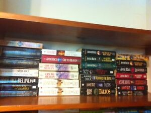 ANNE RICE softcover books for sale - 27 in total - only $10.