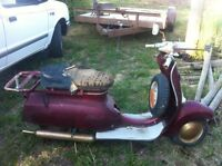 Wanted Triumphn T10 scooter