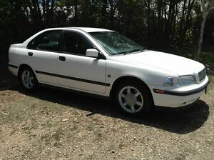 1999 Volvo S40 T4 SE White 4 Speed Automatic Sedan Nambour Maroochydore Area Preview
