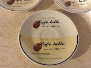 CAFE EXPRESSO SET OF 6 RARE STOKES GOURMET MADE IN PRC Gatineau Ottawa / Gatineau Area image 7
