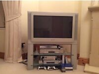 SONY 32inch TV, Analogue tv, Grey silver