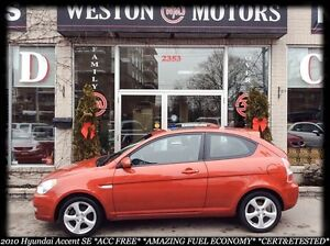 2010 Hyundai Accent SE*ACC FREE*CERT&ETESTED*BUY HERE-PAY HERE