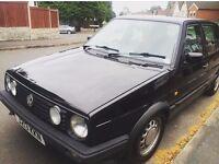 Black Mk2 Golf