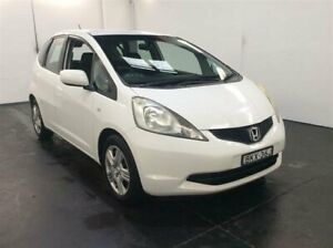 2009 Honda Jazz GE GLi White 5 Speed Automatic Hatchback
