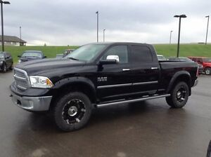2014 Ram 1500 Crew Laramie 4x4.     .  NO CREDIT REFUSED 100%