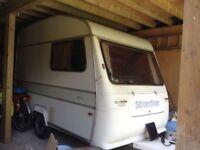 Vintage 2 berth caravan - Silverline nova