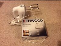 £10 Kenwood HM520 Hand Mixer, White HOUSE CLEARANCE