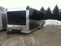 New 102 x 24 Enclosed Car Hauler