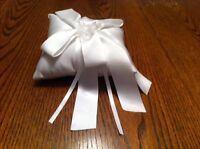 Ivory ring bearer pillow - REDUCED! $10!!