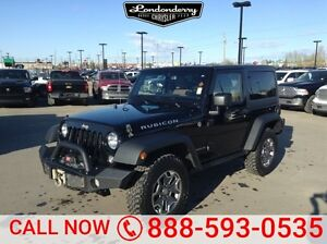 2015 Jeep Wrangler 4WD RUBICON Accident Free,  Navigation (GPS),