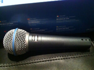 New Shure Beta 58A Microphone with 2 years warranty