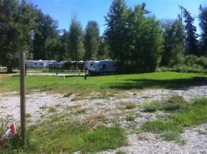 Serviced Titled RV Lots at Kootenay River Fort Steele