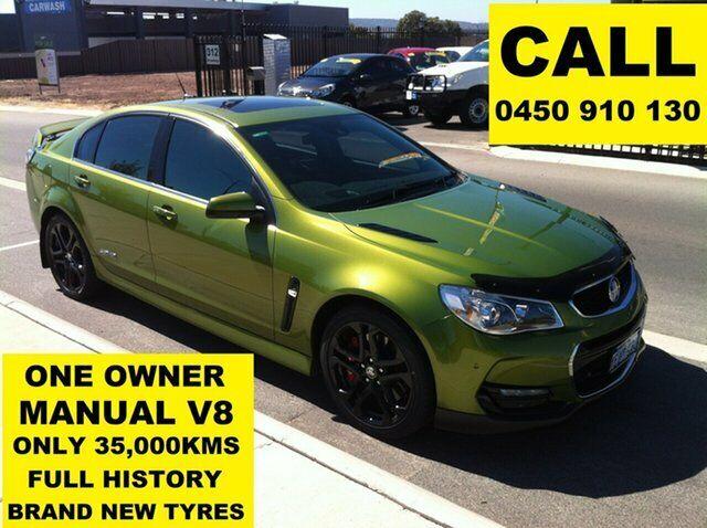 2015 Holden Commodore Vf Ii Ss V Redline Jungle Green 6