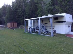 Lakeview RV Lot and 5th Wheel at Moyie Lake, BC
