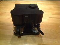 Black Krups Coffee maker (CafePresso 10 model 865)