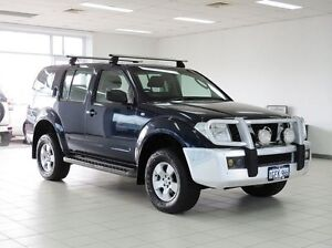 2008 Nissan Pathfinder R51 08 Upgrade ST (4x4) Blue 5 Speed Automatic Wagon Morley Bayswater Area Preview