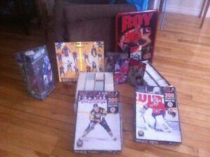Collectionneur cartes de hockey
