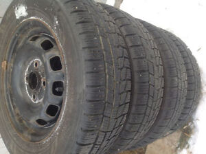 (175- 70 -13) 4 WINTER TIRES 90%TREAD OF TERCEL