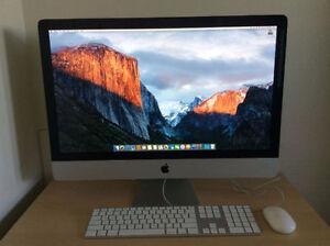 2009 iMac 27 i5-2.66GHz 4GB RAM 1TB HDD