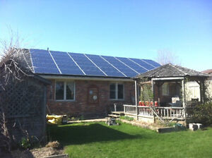 Earn up to $72,000 income with roof-top solar and microFIT Cambridge Kitchener Area image 1