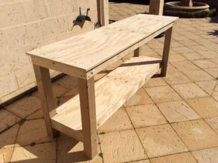 Wooden Workbench Nedlands Nedlands Area Preview