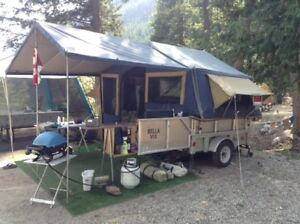Tent Trailer - Light, Spacious, Robust