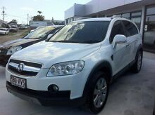 2009 Holden Captiva CG MY09.5 LX (4x4) White 5 Speed Automatic Wagon Wynnum Brisbane South East Preview