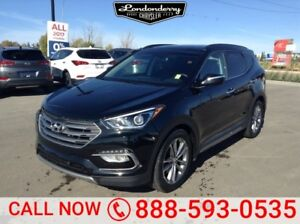 2017 Hyundai Santa Fe Sport AWD SPORT 2.0T Accident Free,  Leath